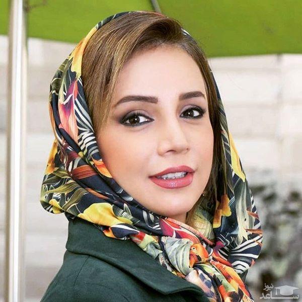 شبنم قلی خانی از وسط دو تکه شد+عکس