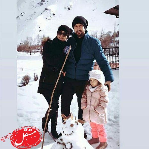 شاهرخ استخری | جنجال عکس جدید شاهرخ استخری در آغوش همسرش + عکس