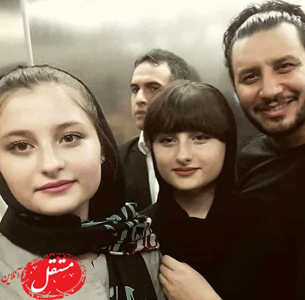 سارا و نیکای پایتخت در کنار جواد عزیی + عکس