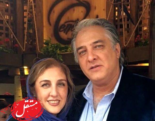 ایرج نوذری و خواهرش + عکس