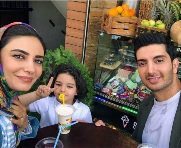 عکسهای دیده نشده فرزاد فرزین با همسرش + عکس و بیوگرافی
