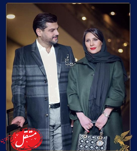 نگاه عاشقانه سام درخشانی به همسرش + عکس