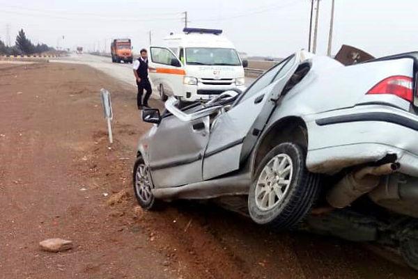 تصادف وحشتناک خودرو پراید با پژو ۲۰۶ +عکس