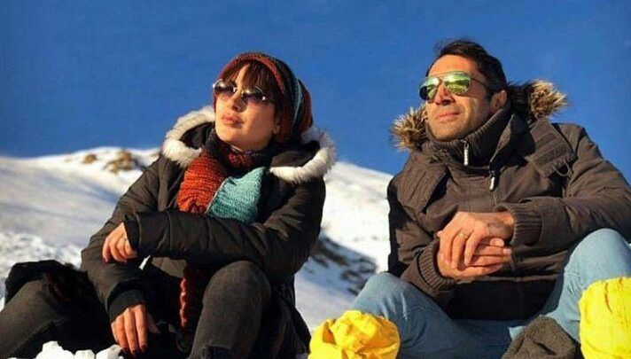 تیپ زمستانی هادی کاظمی و همسرش سمانه پاکدل +عکس |دنیاک