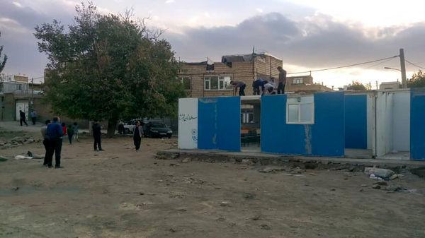 درگیری ماموران شهرداری با معلمان در همدان / ماجرا چه بود ؟ + عکس