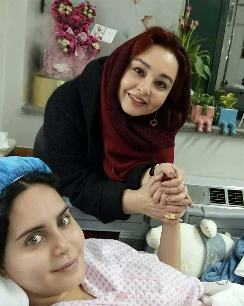 جدیدترین تصویر از الناز شاکردوست روی تخت بیمارستان