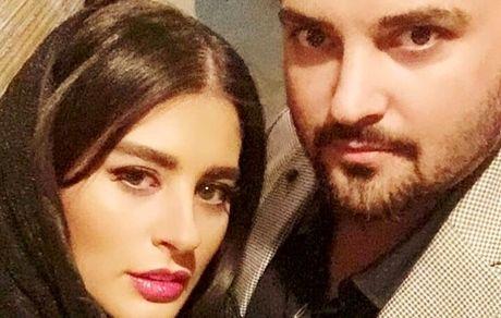نوه حشمت خان فردوس و همسرش + عکس