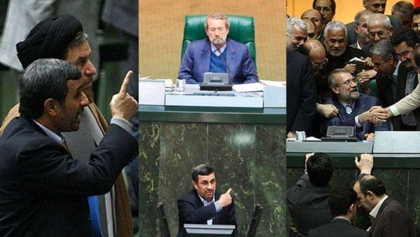 دیدار احمدینژاد با اعضای شورای نگهبان برای انتخابات ۱۴۰۰