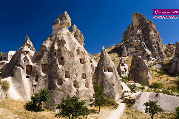 کاپادوکیه، ترکیه، روستای گورمه، جاذبه های گردشگری ترکیه