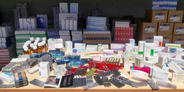 کشف بیش از ۲۴۷ هزار عدد داروی غیرمجاز در ناصرخسرو