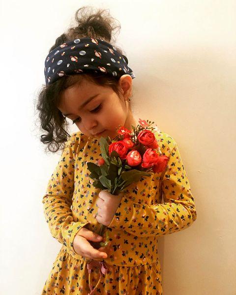 دختر بانمک خانم مجری جنجالی + عکس