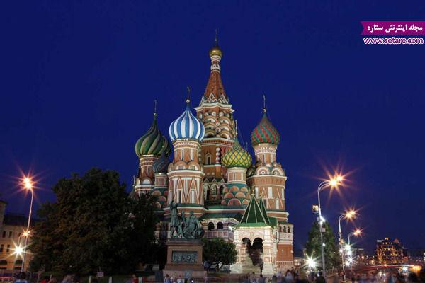 کلیسای سنت باسیل، مسکو، روسیه،یونسکو، آثار ملی، میراث جهانی،