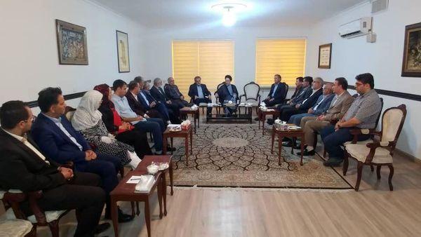 اعضای شورای مرکزی حزب پیشرو اصلاحات با خاتمی ملاقات کردند