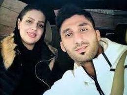 عاشقانه های رشید مظاهری در کنار همسرش + تصاویر