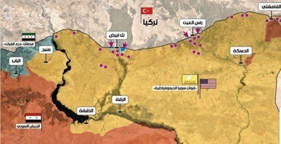 عقب نشینى ٢٠ کیلومترى کردهاى سوریه