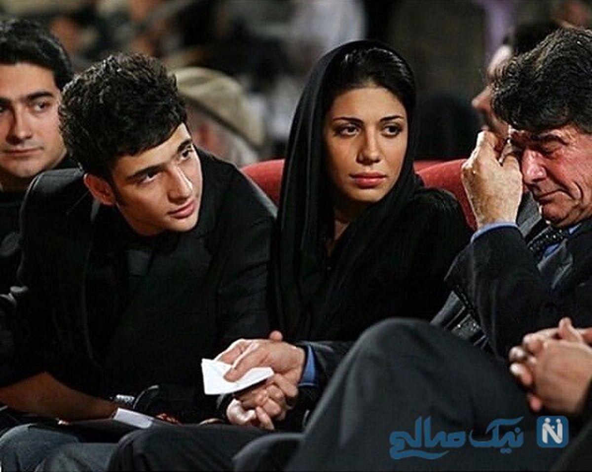محمدرضا شجریان در کنار نوه هاشون آیین و آوا +عکس
