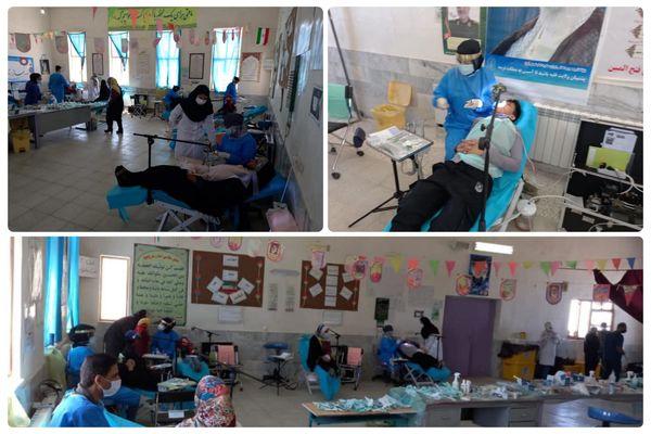 ارائه خدمات رایگان پزشکی در روستای قلعه زری