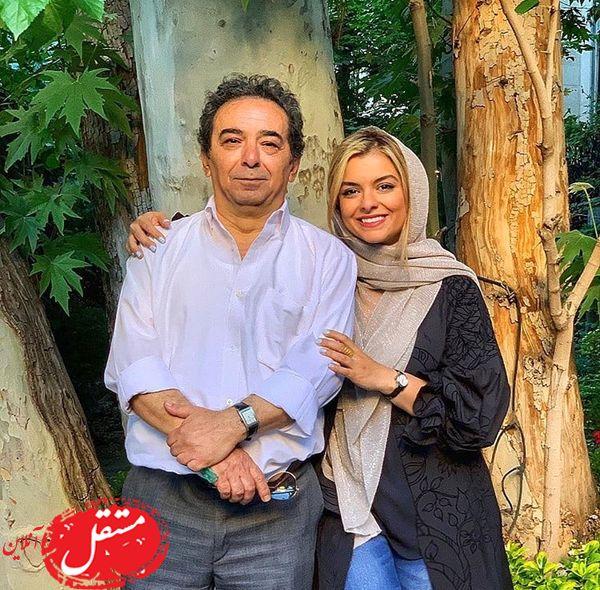 همسر سابق رویا تیموریان و دخترش + عکس
