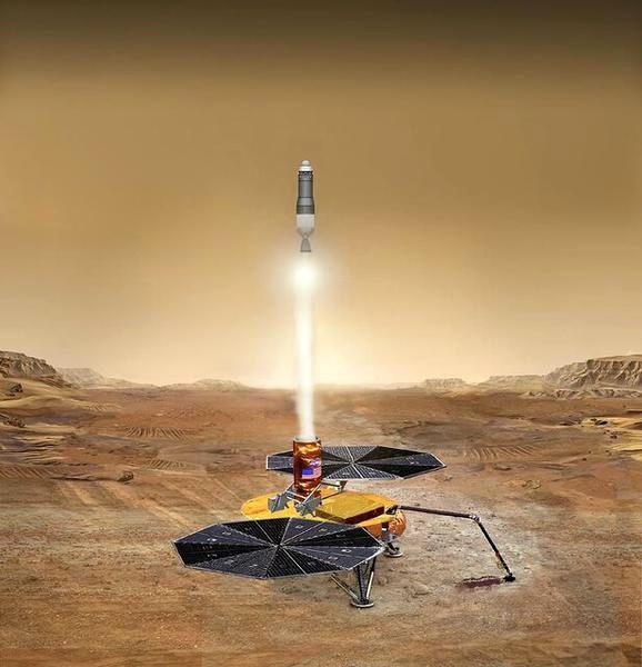 خاک مریخ کی به زمین می رسد؟