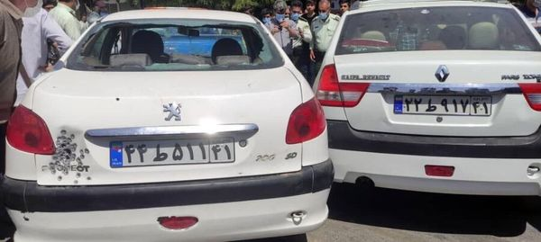 به رگبار بستن خودرو و قتل در روز روشن