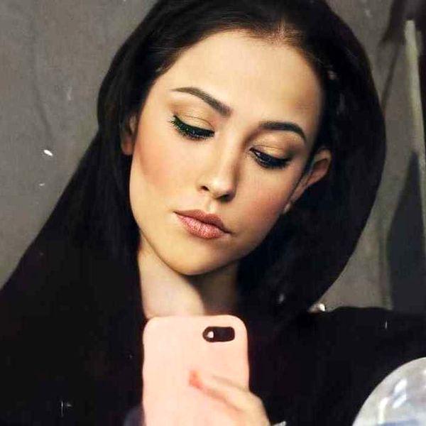 مدل موی جدید آدرینا صادقی بازیگر سریال احضار + عکس