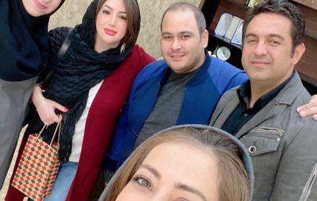 جمعی از بازیگران مشهور در مشهد + عکس