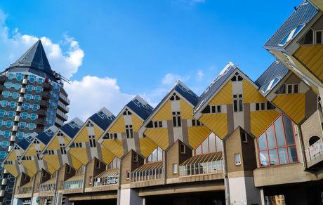 خانههایی عجیب در هلند + عکس