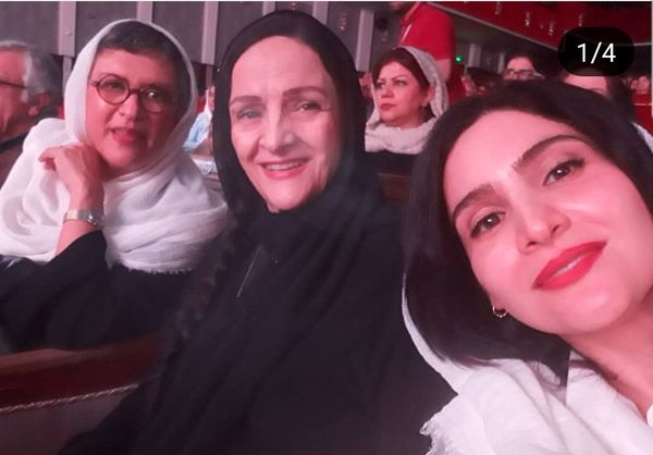 سلفی شاد دختر و همسر مهدی هاشمی + عکس