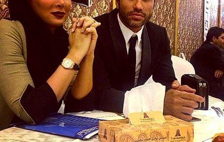 عکس جنجالی نیکبخت واحدی  و همسرش در آسانسور + تصاویر جدید