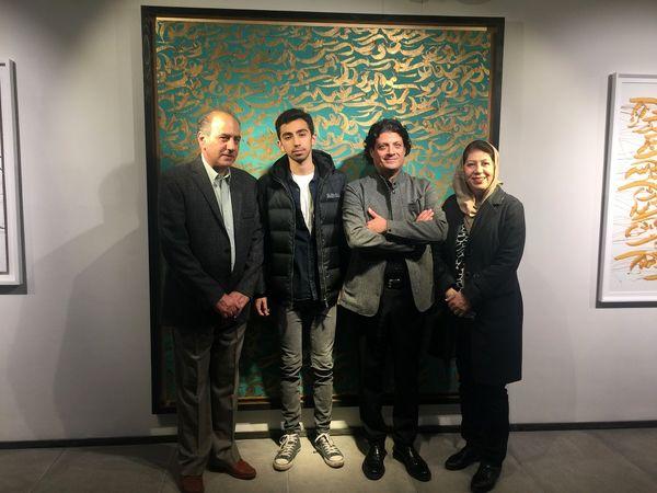 نمایشگاه نقاشیخط «کوروش قاضیمراد»/ هنرمندی که مدرنیته را با حفظ اصالت انعکاس میدهد