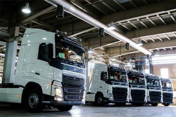 تازهترین آمار از تولید خودروهای سنگین
