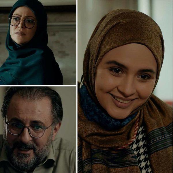بازیگران زن سریال احضار بدون گریم + تصاویر جنجالی