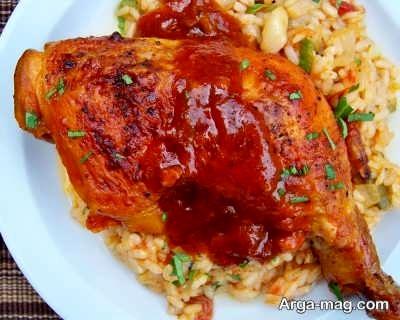 گوشت مرغ سرخ شده
