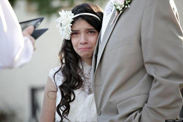 مراسم ازدواج تلخ و غم انگیز دختر 11 ساله + تصاویر