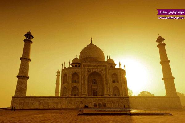تاج محل، هندوستان، آگرا، سنگ مرمر