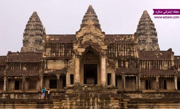 معبد آنگکور، کامبوج، قدیمیترین معابد دنیا، خدای هندوها، ویشو