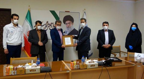 انتخاب پگاه زنجان به عنوان واحد نمونه در عرصه خدمات