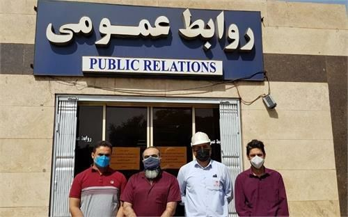 از کارکنان برتر گروه فولاد خوزستان در رعایت شیوه نامه های بهداشتی تقدیر شد