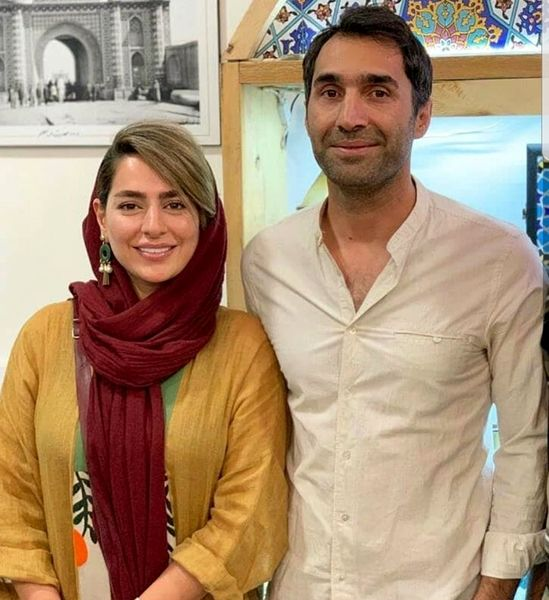 امیریل و همسر واقعی اش + عکس