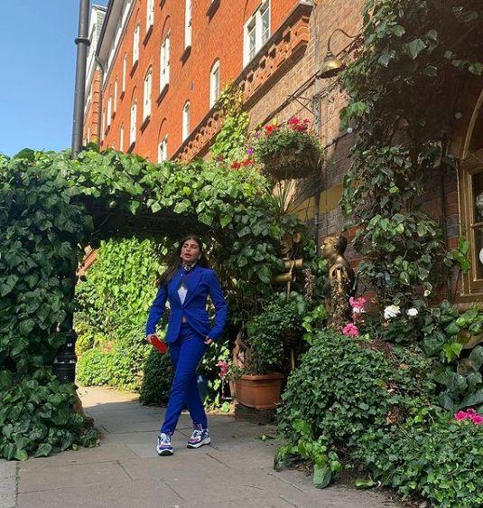 عکسهای  جدید دنیز دایی در لندن+عکس