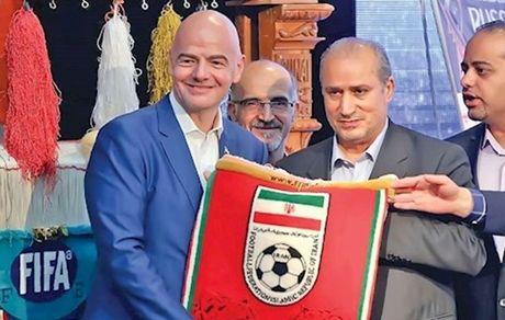 اینفنتینو: از مقامات و فدراسیون ایران ممنونم