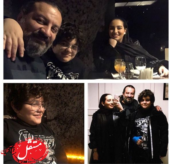 میهمانی شام مهراب خان و فرزندانش + عکس
