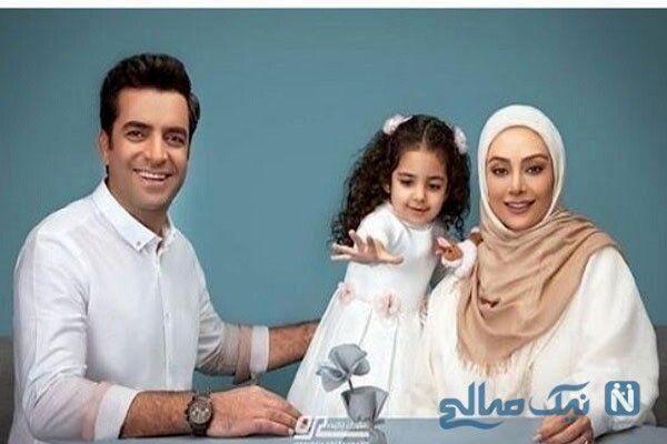 ست زیبای یکتا ناصر و همسرش منوچهر هادی ودخترشان سوفیا+عکس   نشان آنلاین