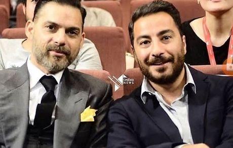 نوید محمدزاده و پیمان معادی در یک مراسم خارجی + عکس