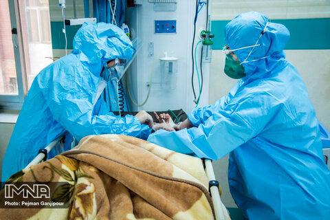 بیماران کرونایی قبل از مرگ این تصاویر را می بینند + فیلم