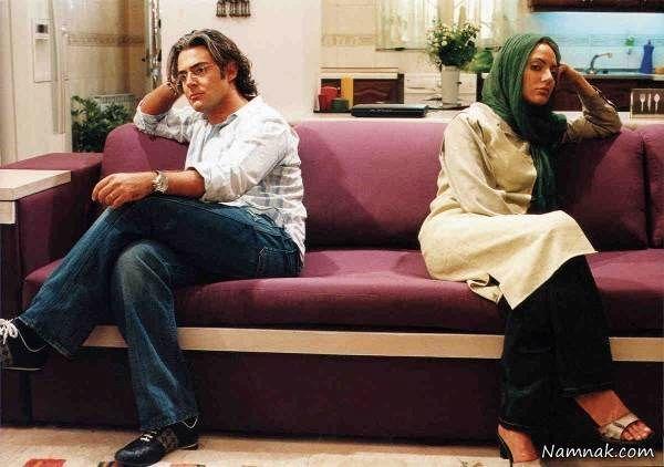 مهناز افشار و محمدرضا گلزار