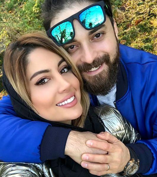 عاشقانه های بابک جهانبخش و همسر دومش + عکس و بیوگرافی