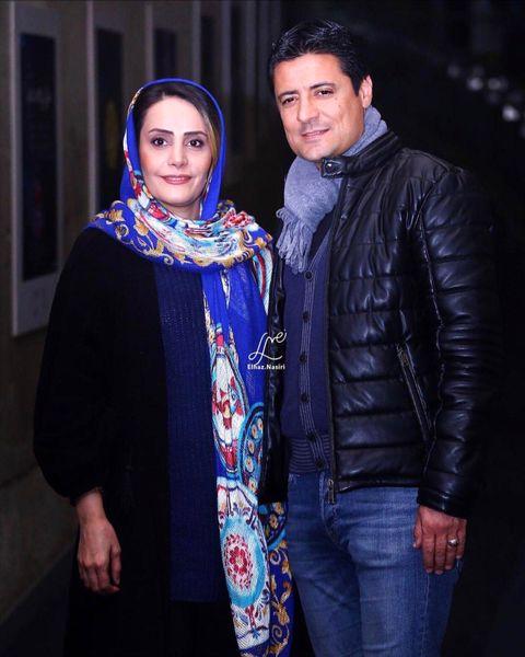 علیرضا فغانی|عکس دیده نشده  در آغوش همسرش + عکس و بیوگرافی