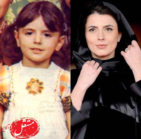 لیلا حاتمی در گذر زمان + عکس