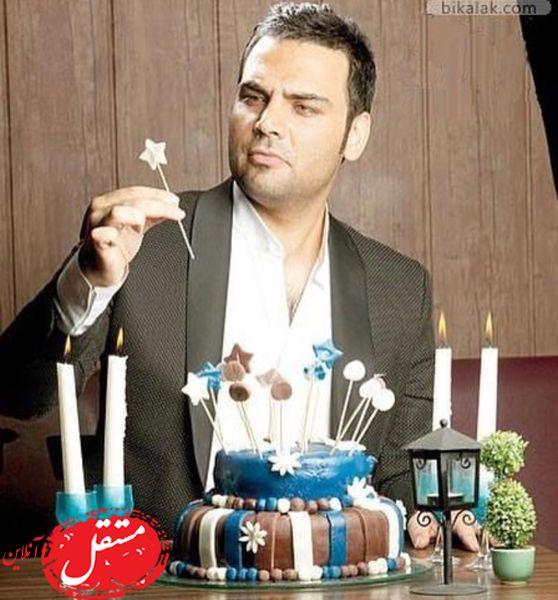 جشن تولد احسان علیخانی + عکس